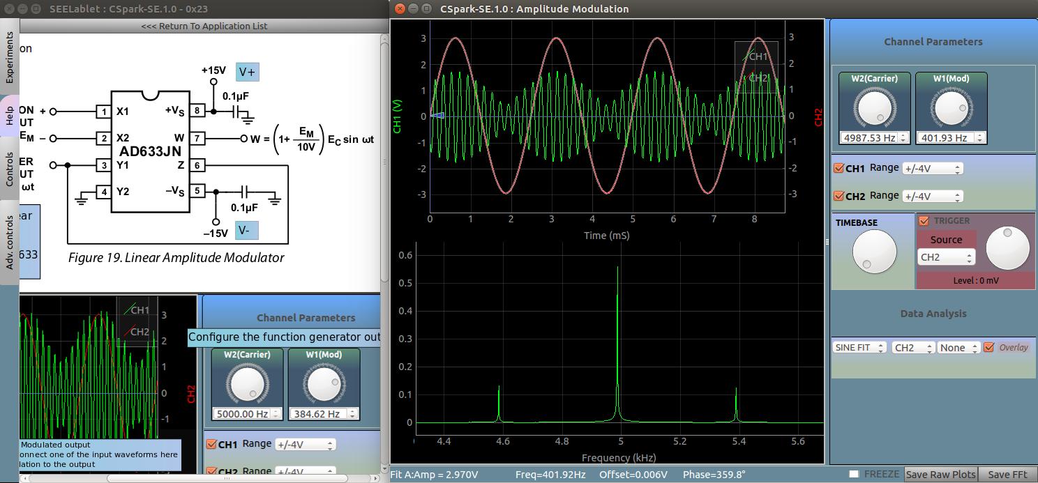 Index Am Modulator Circuit Screenshot