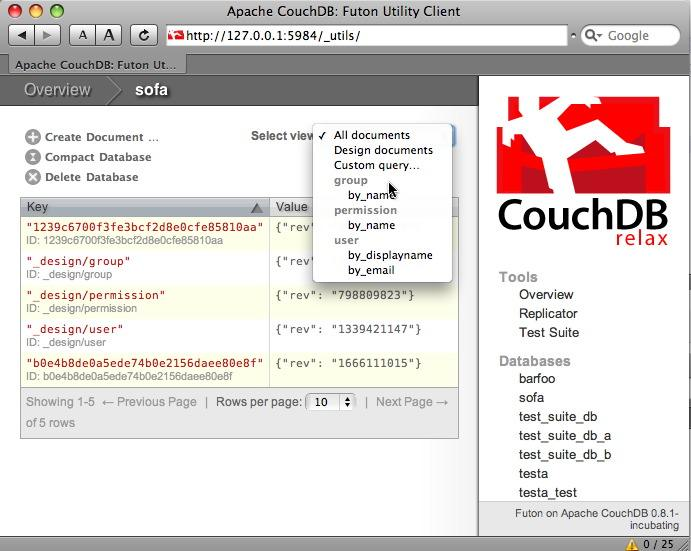 futon view of a collection of documents   shabti auth couchdb  u2013 identity on couchdb  u2014 shabti v0 4 3      rh   pythonhosted org