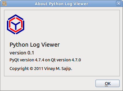 Python Log Viewer — Python Log Viewer v0 1 documentation